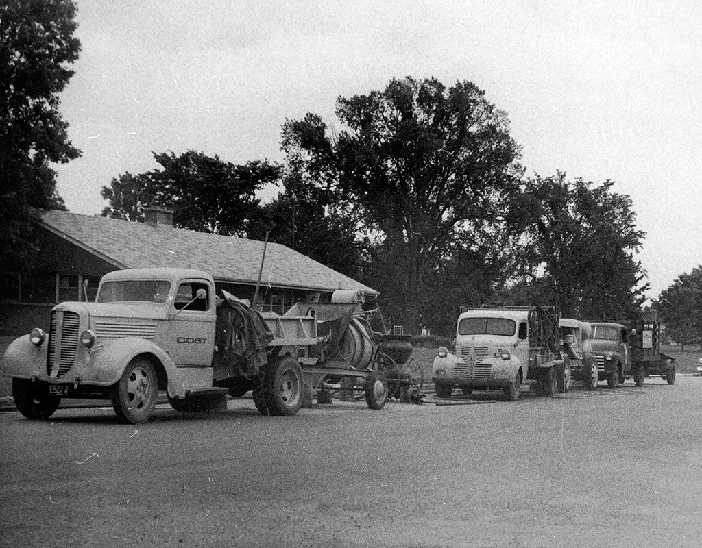Original Fleet Trucks circa 1959
