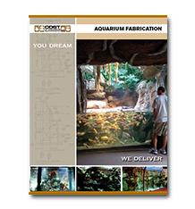 Aquarium Fabrication Brochure Cover Photo