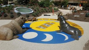 Lucile Packard Childrens Hospital Sundial