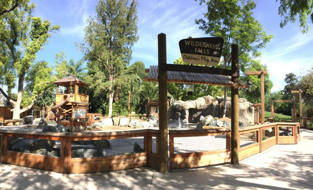 FCZ Wilderness Falls water play area 6