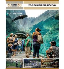 Zoo Exhibit Fabrication Brochure