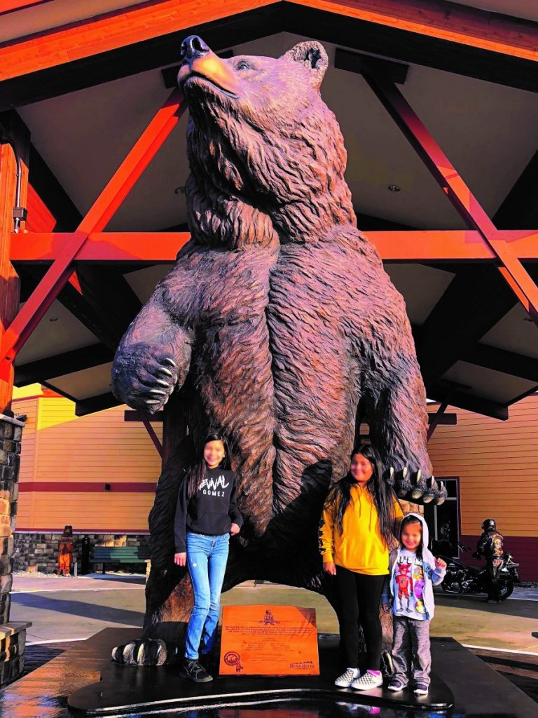 The Guardian Sculpture Unveiled At Bear River Casino Cost Of Wisc