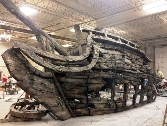 Moody Shipwreck
