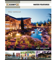 Water Features Brochure Cover