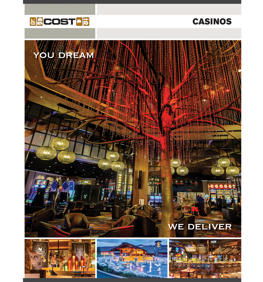 Casino Brochure Cover