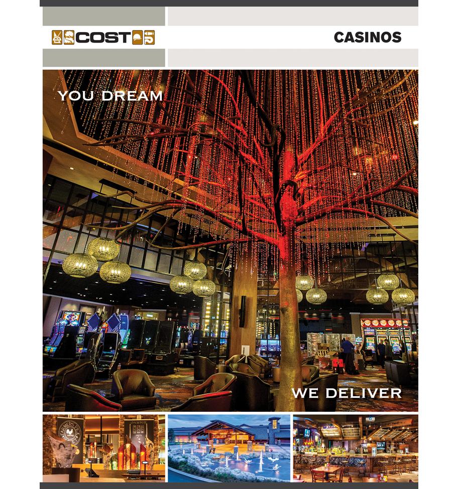 Casino Brochure Cover